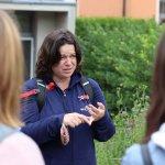 Lucia Szabová, aktivistka v téme klimatickej zmeny, ktorá bola našou lektorkou.