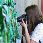 Na návšteve v zbernom dvore, LITTER LESS workshop Banská Štiavnica, jún 2014; autorka: Patrícia Beličková