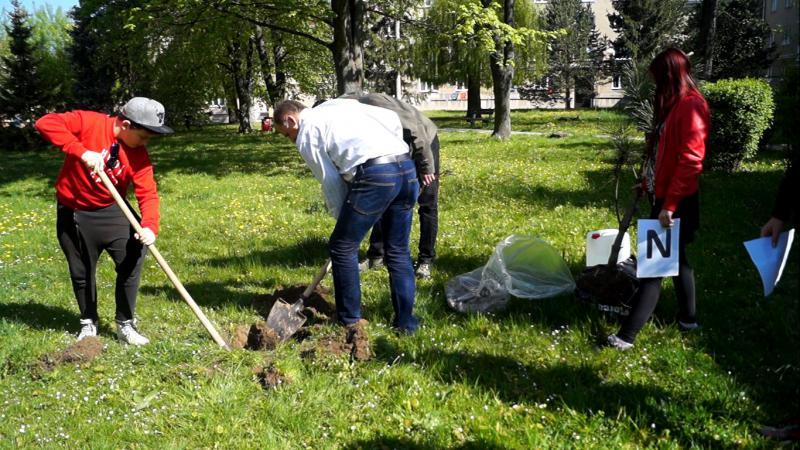 Mladí reportéri zasadili aj nový strom