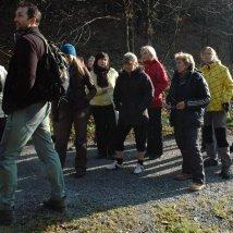 Po Národnom parku Malá Fatra mladých reportérov sprevádzal lesný strážca Michal Babnič.